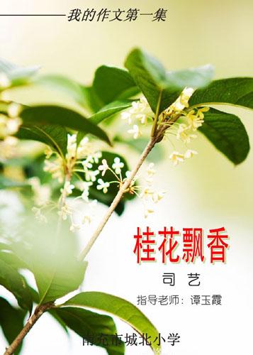 桂花飘香 小学生作文集